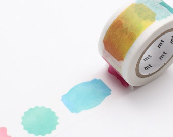Label Watercolour Washi Tape by mt masking tape [ mt ex washi tape ]