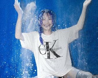 CK Cocaine & Ketamine Unisex T - Grunge Goth Kawaii Industrial Rave Festival Drugs Calvin Japan Yeezy Vetements Vintage Frederick Banting