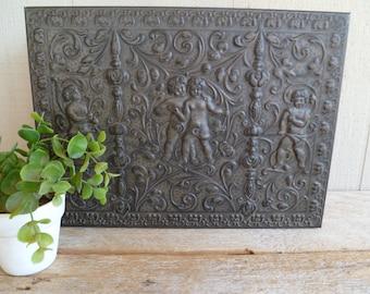 Beautiful Ornate Silver Tone Metal Lined Jewelry Keepsake Box