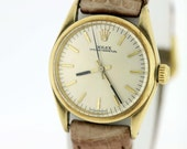 18K Rolex wrist watch Oyster Perpetual Automatic