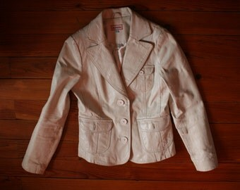 Blend of America white cream jacket blazer size 36 EU