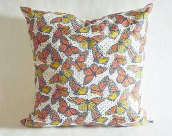 Cover ONLY Monarch Butterfly Throw Pillow