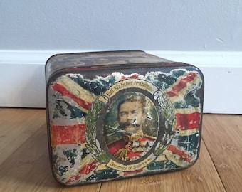 Antique Military Tin