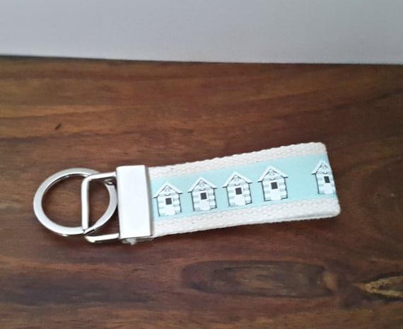 Key Ring For Girls Beach Hut Keyring By Hectorshousecraft On Etsy