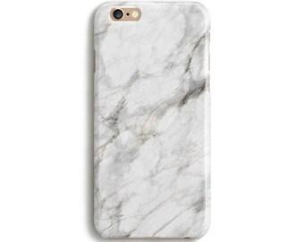 White marble - iPhone 7 case, Samsung galaxy S7 case iPhone 6 iphone 7 plus samsung galaxy S6 ...