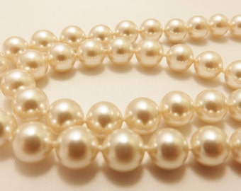 Jostens Sterling Silver Faux Pearl Necklace