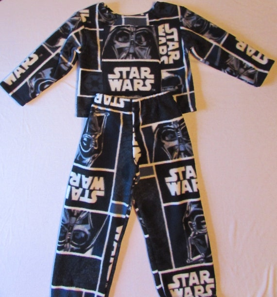 Pajama set / Star Wars / fleece / sizes 1/2T to XL men