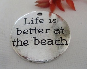 Beach  Word Charm