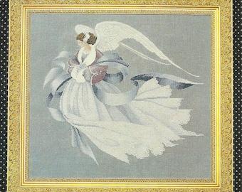 Lavender & Lace:  Angel of Winter Cross Stitch Chart