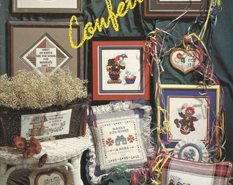 Stoney Creek:  Confetti Cross Stitch Booklet 26