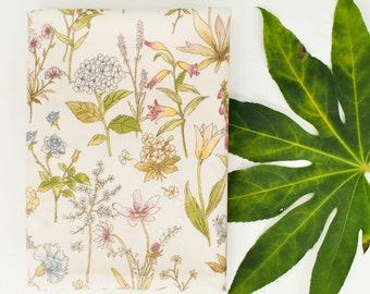 Laminated Cotton Fabric Herb By The Yard