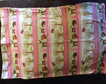 Pink Forest pillowcase