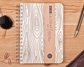 Day Planner 2017 April 2 April with a high quality paper! A5 Weekly Diary with Wood texture! Calendar Calendario Kalender Agenda Journal!
