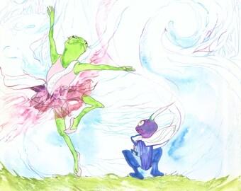 The Ballerina Frog Paperback