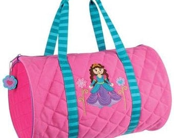 Personalized Princess Duffle Bag-Personalized Princess Dance Bag, Girl's Dance Bag