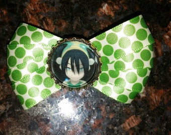Toph- Avatar the last Airbender hairbow