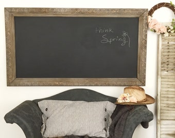 Large Office Chalkboard Home Office Bulletin Board Wall Hanging Rectangle Restaurant Cafe Chalkboard