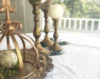 large french rooster kitchen table centerpiece by