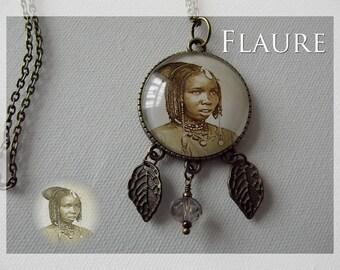"""A pendant necklace """"Senegalese"""""""