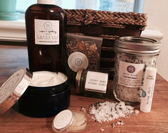 Relaxation Aromatherapy Gift Basket