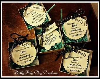 Clay Gift Tag -  When Someone you Love Becomes a Memory