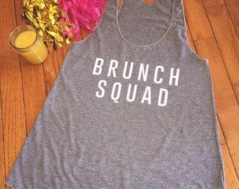 Brunch Squad • Brunch Lover Tank • Brunch Squad Tank Top