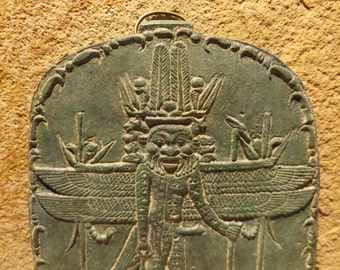 Egyptian magic - museum replica. Ancient mythology - Bes Pantheos / Heka.