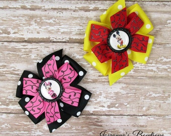 Minnie and Mickey pinwheel  set