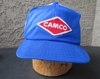 Camco Trucker Cap Mesh, Snap Back Embroidered Patch