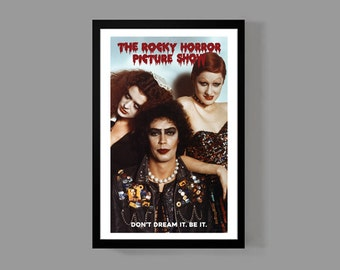 The Rocky Horror Picture Show - Dr. Frank-N-Furter Poster Print - Tim Curry Movie Cult Classic