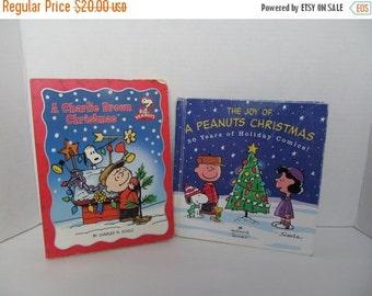 Peanuts Christmas Books - The Joy of a Peanuts Christmas, A Charlie Brown Christmas