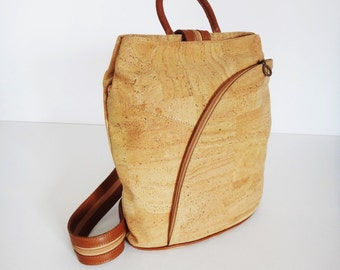 Cork Backpack - FREE SHIPPING WORLDWIDE -  Vegan Eco-Friendly Mothers Day Gift Idea