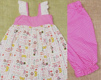 Hattie Dresses with Ruffle Pants