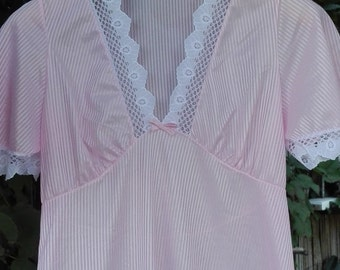 Night gown pink shabby chic
