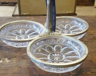 Silver plated candy dish - side dish