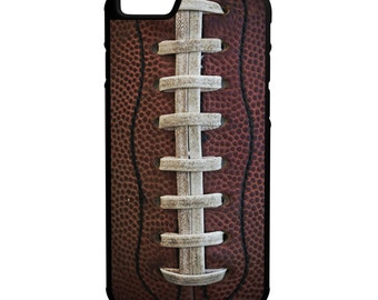 Football iPhone Galaxy Note LG HTC Protective Hybrid Rubber Hard Plastic Snap On Case Black