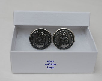 USAF buttons cuff links or Tie Tac/hat pin