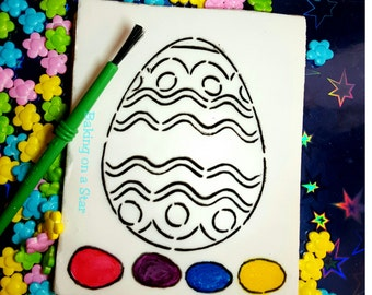 1 dozen paint your own Easter egg cookies