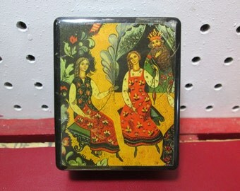 Decorative Note Box with Note Paper NEW