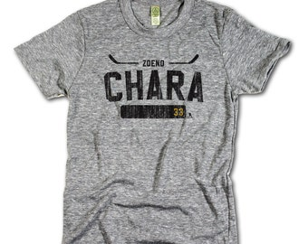 Zdeno Chara Officially Licensed NHLPA Boston T-shirt Unisex XS-2XL Zdeno Chara Athletic K