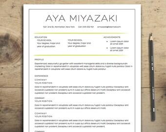 Diy resume