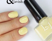 Banana Coconut by Lucky Lacquer, 5-Toxin Free Nail Polish
