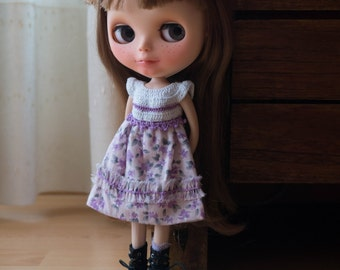 Blythe cotton and crochet dress.