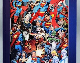 Superman - Comic Book Sculpture