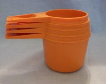Vintage Tupperware Measuring Cups -As Is
