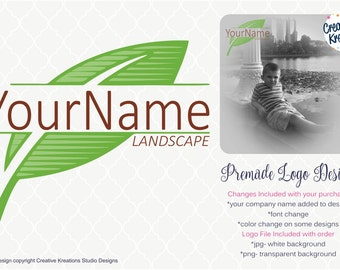 Premade Lawn Care Logo Landscaping Logo Landscape Logo Lawn Logo Watermark Logo Branding Logo Graphic Design