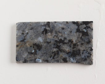Larvikite Slab - Norwegian Moonstone Slab - Natural Stone Slab - Lapidary Rough