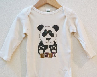 Panda Organic Made in the U.S. Onesie