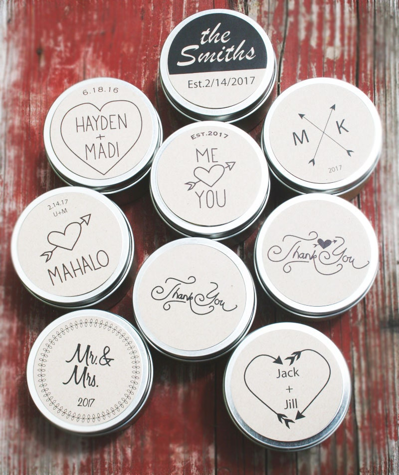 Wedding Gift Candles: Soy Candle Favors / Wholesale Wedding Favors / Rustic Wedding