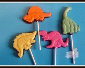 Dinosaur chocolate pops (12) Dinosaur Party, Jurrassic favor/T-rex favor/Dino Favor
